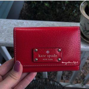 Kate Spade Wellesley Darla Wallet Red